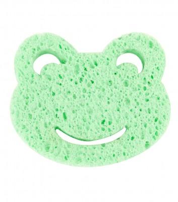 Bebedor - Bebedor Doğal Selülozik Bebek Banyo Süngeri Yeşil