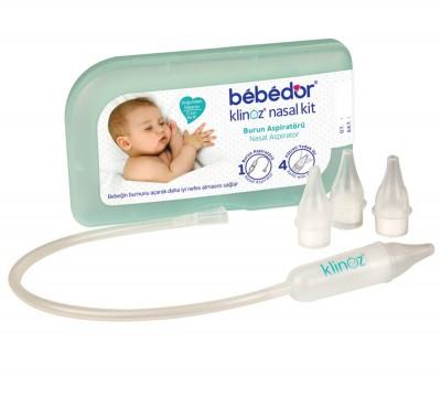 Bebedor - Bebedor Klinoz Saklama Kutulu Burun Aspiratörü