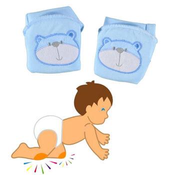Bebek Emekleme Dizliği Mavi
