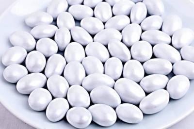 Bebek ve Nikah Kayısı Çekirdekli Badem Şekeri Beyaz 1kg. - Thumbnail