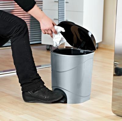 Diğer - Bella Basmalı Çöp Kovası 30cm
