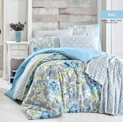 Diğer - Berin Terrycotton Çift Kişilik Uyku Seti Takımı Mavi