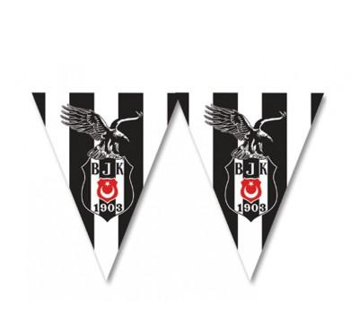 Diğer - Beşiktaş Temalı Üçgen Flama Bayrak