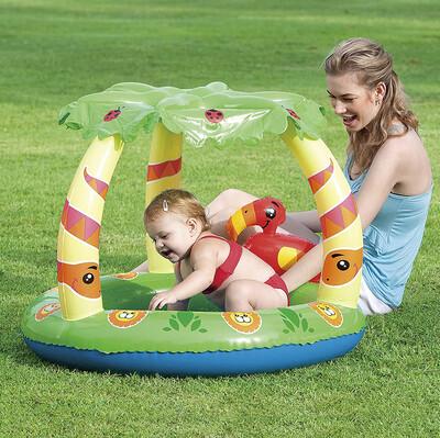 Bestway - Bestway Gölgelikli Şişme Çocuk Havuzu 99cm