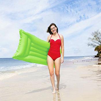 Bestway Mat Renkli Şişme Havuz ve Deniz Yatağı Yeşil