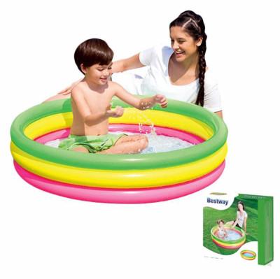 Bestway Rengarenk Mini Şişme Yüzme Havuzu 102cm - Thumbnail