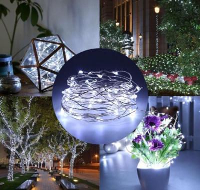 Beyaz Mini Peri Led Dekor Işığı 5 Metre - Thumbnail