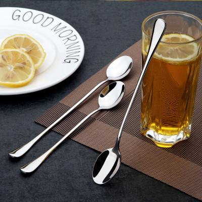Joy Kitchen - Büyük Bardak ve Kavanozlar İçin Uzun Saplı Kokteyl Kaşık