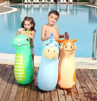 Bestway - Çocuklar İçin Eğlenceli Şişme Hacıyatmaz Asorti