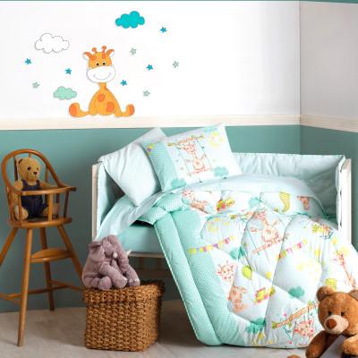 Cotton Box - Cotton Box Zürafa Bebek Uyku Seti Yeşil
