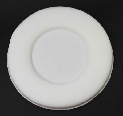 Diğer - Daire Şeklinde Bebek Kapı Süsü Yapımı Malzemesi Beyaz