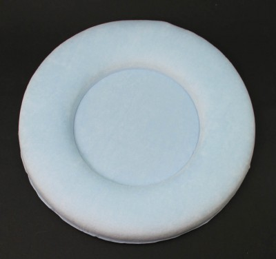 Diğer - Daire Şeklinde Bebek Kapı Süsü Yapımı Malzemesi Mavi