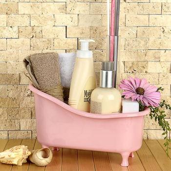 Dekoratif Küvet Şeklinde Banyo Düzenleyici Asorti