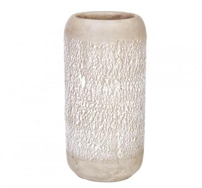 Diğer - Dekoratif Seramik Silindir Vazo 24cm