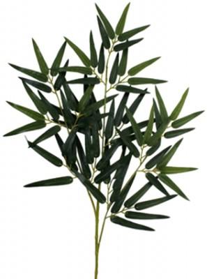 Diğer - Dekoratif Süs Yapraklı Bambu Dalı 60cm