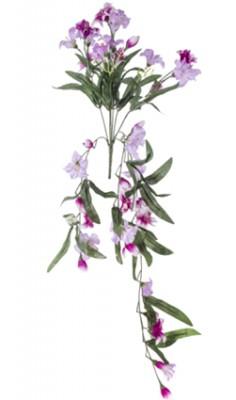 Diğer - Dekoratif Yapay Çiçek Zambak Salkımı 64cm