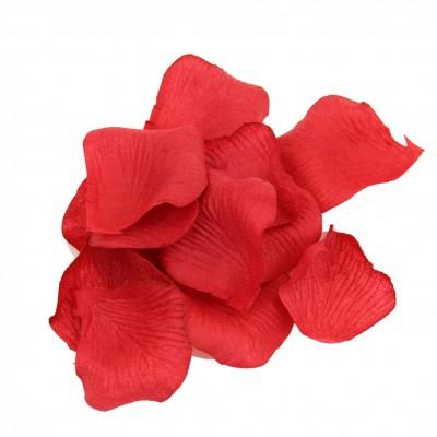 Dekoratif Yapay Gül Yaprağı Kurusu 144 Adet Kırmızı - Thumbnail