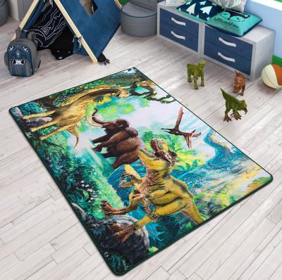 Confetti - Dinozor Dünyası Çocuk ve Bebek Odası Halısı 133x190cm