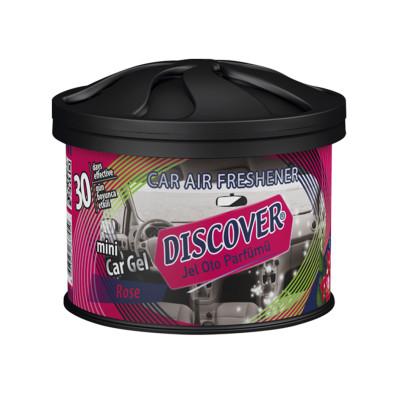 Discover - Discover Mini Car Jel Oto Parfümü Rose