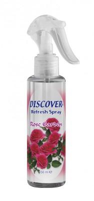Discover - Discover Refresh Likit Mini Oda Spreyi 150 ml. Rose Garden