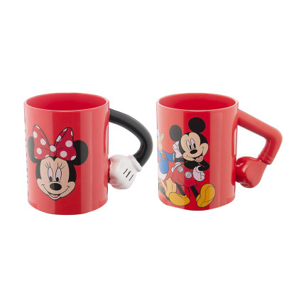 Diğer - Disney Mickey ve Minnie Mouse Temalı Bardak 400ml