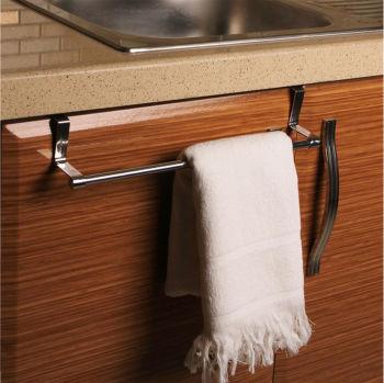 Dolap Kapağına Asılan Metal Mutfak Havlu Askısı