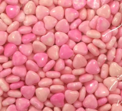 Diğer - Draje Şeker Kalp Meyve Aromalı Şeker Pembesi 1kg