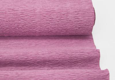 Diğer - Düz Renk Desenli Krapon Hobi ve Süsleme Kağıdı 50x250cm Pembe