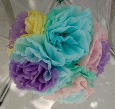 Düz Renk Desenli Krapon Hobi ve Süsleme Kağıdı 50x250cm Su Yeşili - Thumbnail