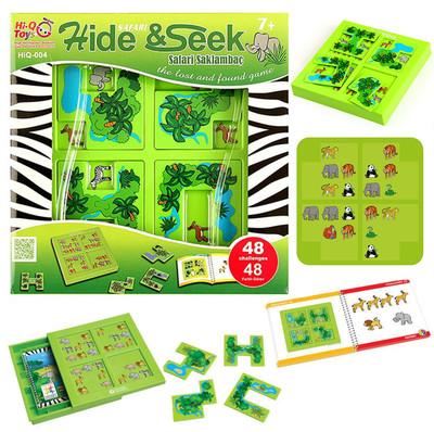Diğer - Eğitici Hobi Safari Saklambaç Zeka Oyun Seti