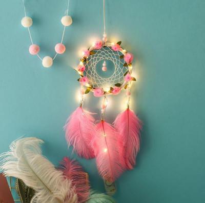 Diğer - El Yapımı Kuş Tüyü Ve Led Işıklı Düş Kapanı