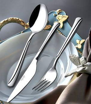 Elit Saten 12li Tatlı Çatalı