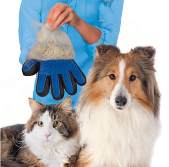 Evcil Hayvanlar İçin Pratik Tüy ve Toz Toplama Eldiveni