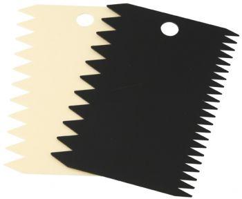 Fackelmann 2li Plastik Pasta Kenarı Dekoratörü Tırtırlı