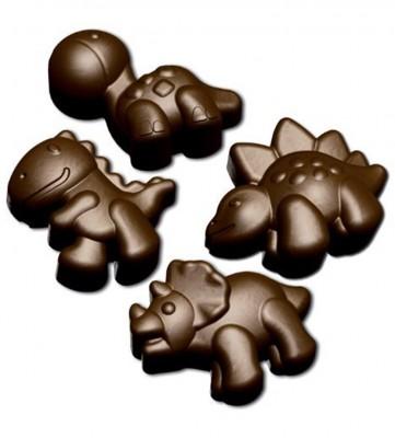 Fackelmann - Fackelmann Dinozor Şekilli Silikon Jöle ve Çikolata Kalıbı