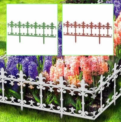 Diğer - Ferforje Görünümlü Plastik Mini Bahçe Çiti 38x86cm