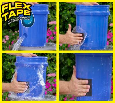Flex Tape Süper Güçlü Sızdırmaz Tamir Bantı 150cm - Thumbnail