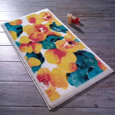 Confetti - Flower Dust Banyo Halısı Sarı 57x100cm