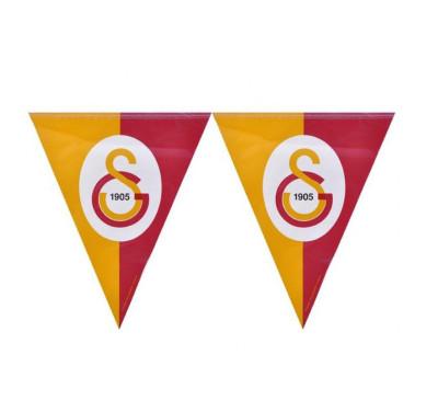 Diğer - Galatasaray Temalı Üçgen Flama Bayrak