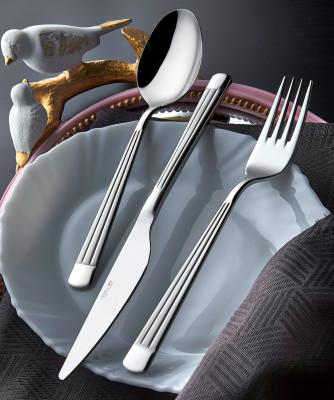 Diğer - Gökkuşağı Sade 12li Yemek Bıçağı