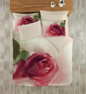 Diğer - Gökyüzü Elegant 3d Çift Kişilik Nevresim Takımı Rose