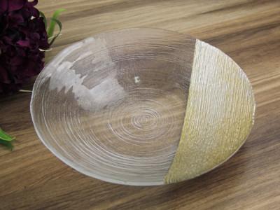 Diğer - Gold Detaylı Helezon Meyvelik Derin Tabak 40cm