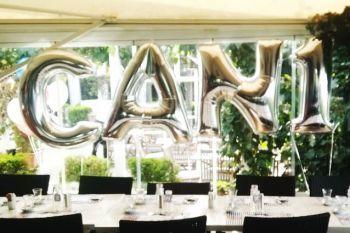 Gümüş Renkli Harf Folyo Balonlar