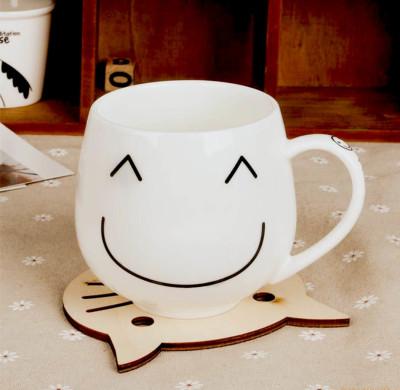 Happy Smile Yazılı Gülenyüz Kupa Bardak 7cm Asorti - Thumbnail