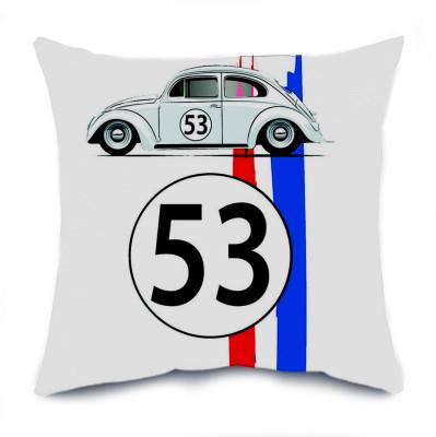 Diğer - Herbie 53 Vosvos Tasarımlı Kırlent Yastık 35cm