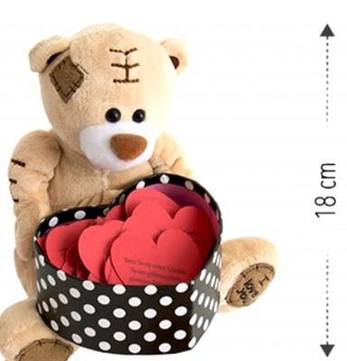 I Love You Sesli Romantik Ayıcık ve Kutulu 365 Gün Sevgi Sözcükleri - Thumbnail