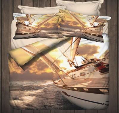 İyi Geceler İstanbul - İyi Geceler İstanbul 3D Sailor Üç Boyutlu Çift Kişilik Nevresim Takımı