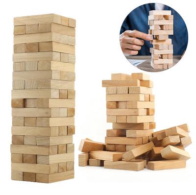 Diğer - Jenga Ahşap Kule Denge ve Beceri Oyunu 48 Parça