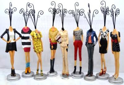 Diğer - Kadın Figürlü Dekoratif Takı Askısı 35cm