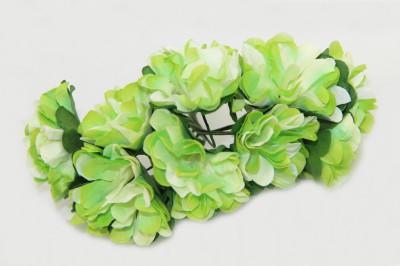 Diğer - Kağıt Çiçek Bebek ve Nikah Hediyelik Şeker Süsü Yeşil